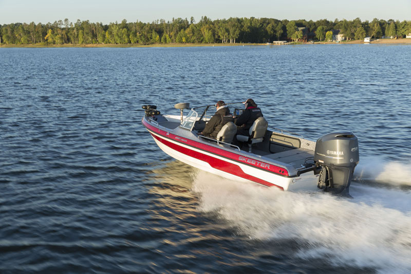 MX2025 skeeter boat with yamaha outboard