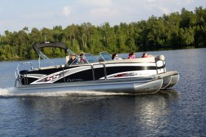 sseries premier pontoon boat