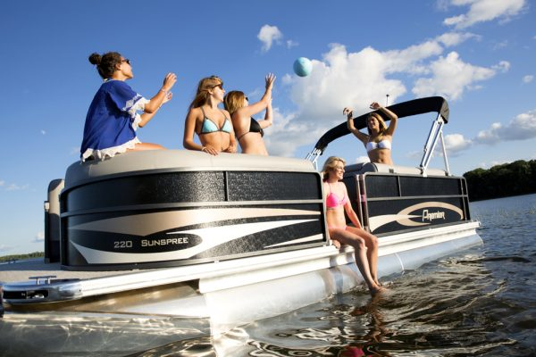 sunspree premier pontoon boat