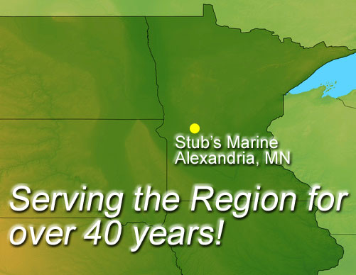 map to stubs marine in alexandria mn